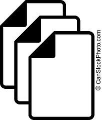files icon - Creative design of files icon