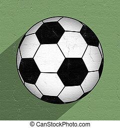 futbol, Pelota, icono