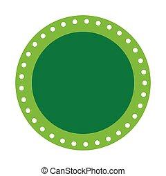green seal stamp sticker