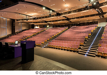 Venue for wide range of lectures and presentations - Wide...
