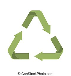 arrows recycle symbol isolated icon design - arrows recycle...