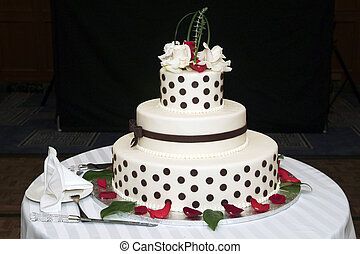 Wedding cake - elegant decoraited Wedding cake