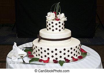 Wedding cake - elegant decoraited Wedding cake