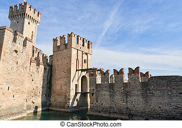 Castello scaligero - The Scaliger Castle is a medieval port...