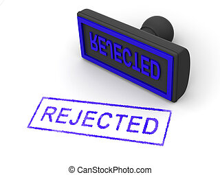 Stamp rejected