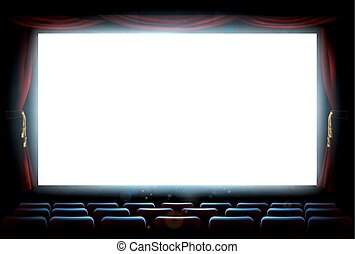 Cinema Theatre Screen