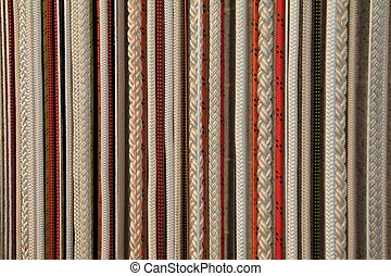 Background of colorful rope