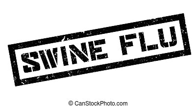Swine flu rubber stamp
