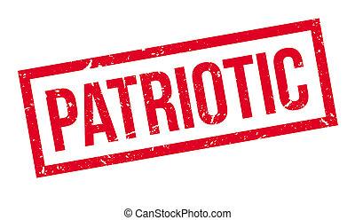 Patriotisch, Gummi, Briefmarke