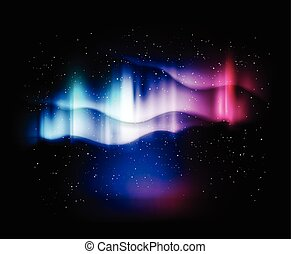 abstract background northern lights