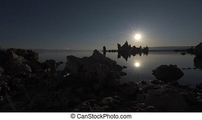 Mono lake at Sunrise Dolly right - Mono Lake Tufa Towers...