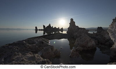 Mono lake at Sunrise Dolly shot raw - Mono Lake Tufa Towers...