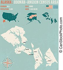 Hoonah-Angoon Census Area - Large and detailed infographic...