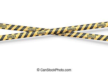 Police Line Tape - Police Line or other Danger restriction...