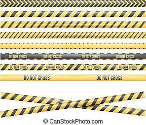 Police Line Tape - Police Line, Crime Scene, Do Not Cross,...