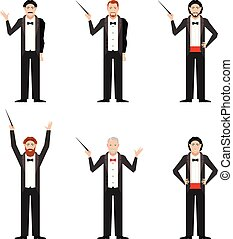 Set of Conductors - Vector image of the set of conductors...