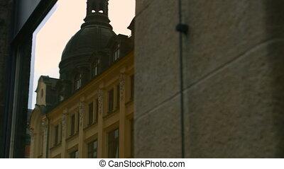 Building in old town in Leipzig, Germany - LEIPZIG, GERMANY...