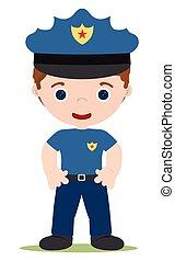cop - good young cop