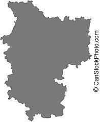 Map - Minsk Belarus - Map of Minsk, a province of Belarus
