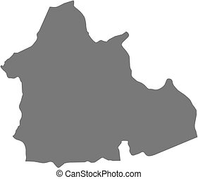 Map - Nana-Mambere (Central African Republic) - Map of...