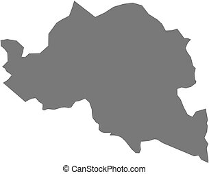 Map - Smolyan Bulgaria - Map of Smolyan, a province of...