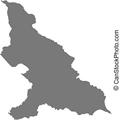 Map - Haut-Mbomou (Central African Republic) - Map of...