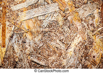 woodchips compressed together