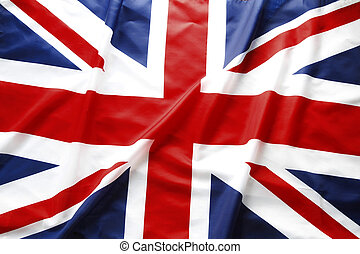 British flag - British Union Jack flag