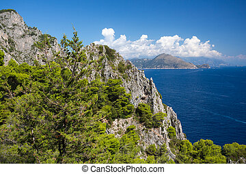 Capri - The Isle of Capri in Italy