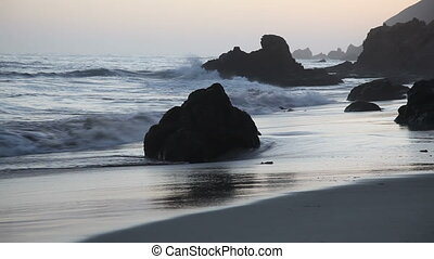 Dusk - Pfeiffer Beach, Big Sur, California
