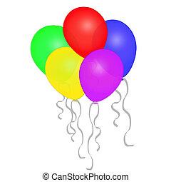 Balloons Illustration