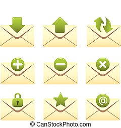 Envelopes Serie | 01 - Professional icons for your website,...
