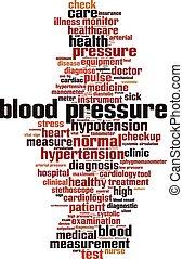Blood pressure-vertical.eps - Blood pressure word cloud...