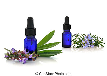 Rosemary and Comfrey Herb Therapy
