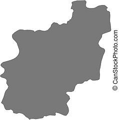 Map - Cuanza Norte Angola - Map of Cuanza Norte, a province...