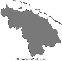 Map - Villa Clara Cuba - Map of Villa Clara, a province of...