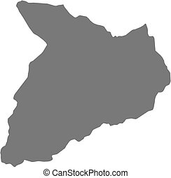 Map - Baghlan Afghanistan - Map of Baghlan, a province of...