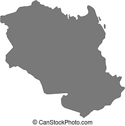 Map - Monagas Venezuela - Map of Monagas, a province of...