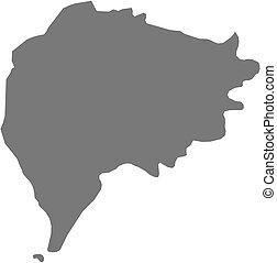 Map - Taizz Yemen - Map of Taizz, a province of Yemen
