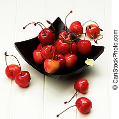 Sweet Maraschino Cherries - Ripe Sweet Maraschino Cherries...