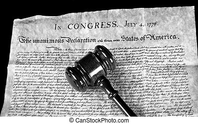 Justice for All. - American Declaration of Independence and...