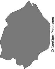 Map - Cuyuni-Mazaruni Guyana - Map of Cuyuni-Mazaruni, a...