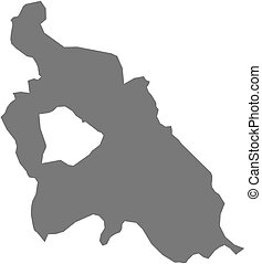 Map - Pest Hungary - Map of Pest, a province of Hungary