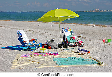 Beach Items and Toys Sanibel Island Florida