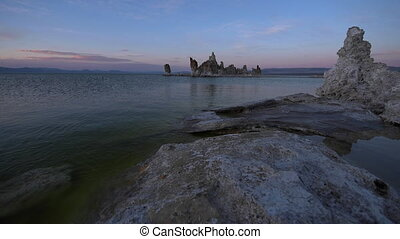 Mono Lake Sunset South Tufa Famous California Landscape