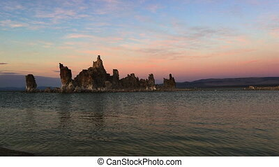 South Tufa Mono Lake at Sunset California USA Vertical...