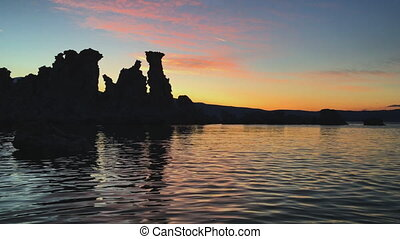 Inyo National Forest Scenic Area Mono Lake - Dawn Light...
