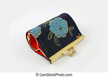 Lovely Jewelry Box with embroidery of flower