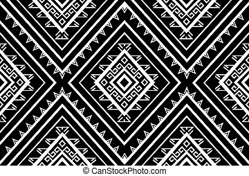 Geometric Ethnic pattern design for...