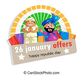 Happy Republic Day of India - 26 january its a indian...